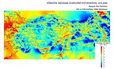 ... Dosyaları & Uygulamalar / REPA Rüzgar Enerjisi Potansiyel Atlası