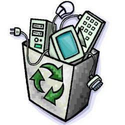 Eski elektronik elektrikli eşya atık toplama geri dönüşüm